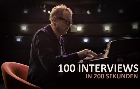 100 Interviews in 200 Sekunden