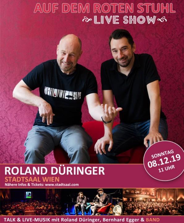 Flyer_Roland_Dueringer_Live_Show