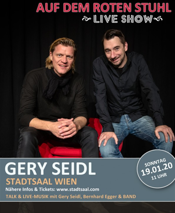 Gery Seidl in der LIVE SHOW