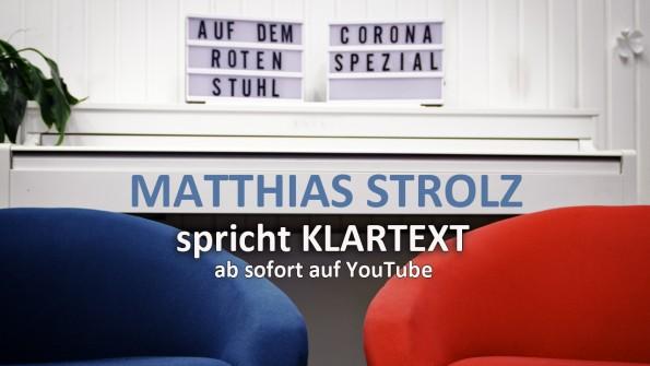 Corona Spezial – Matthias Strolz spricht Klartext