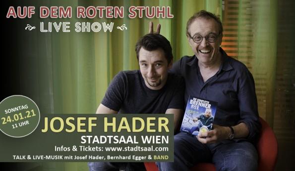 LIVE SHOW mit Josef Hader