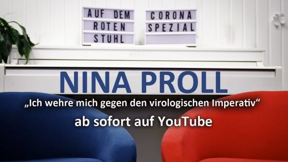 Nina Proll bei Corona Spezial
