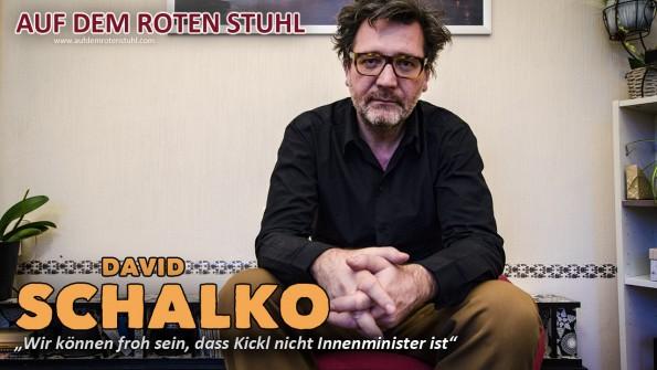 Regisseur David Schalko im exklusiven Interview
