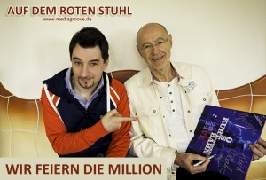 Dr. Kurt Ostbahn feierte mit uns die Million