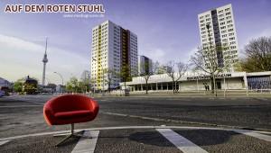 Der rote Stuhl in Berlin